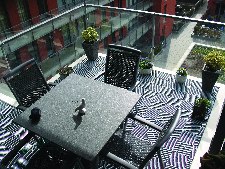 Kunststof balkonvloer